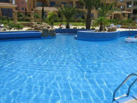 1 bed apartment limnaria gardens paphos holiday rental for Garden pool hire london